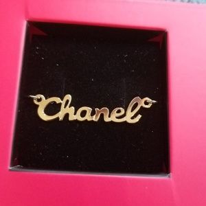 CHANEL Necklace 14k Solid Gold
